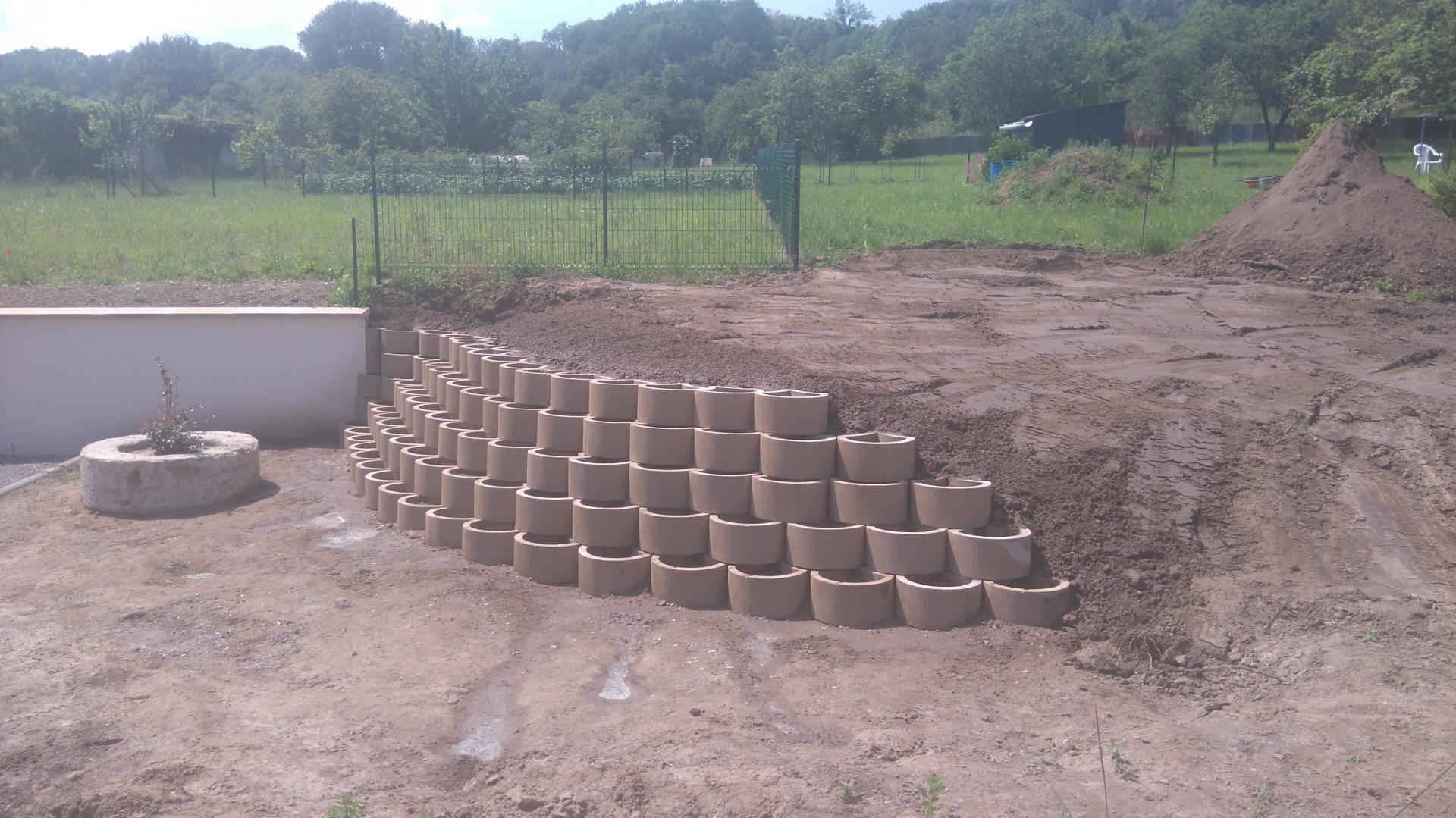 Aménagement jardinière